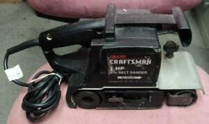 Craftsman sander ebay craftsman 3x21 belt sander sciox Image collections