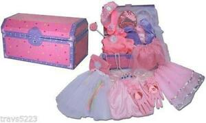 Princess Dress Up Trunk With Shoes
