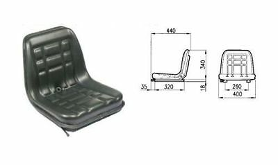 Cobo Gt- 60 Seat With Adjustable Guide For Tractor Fiat-landini-same Etc.