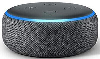Amazon Echo Dot 3 (3. Gen Intelligente Altoparlante Alexa Antracite Nero