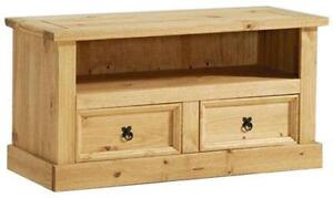 Pine Wooden TV Stand