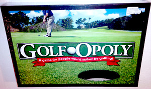 Golfopoly Board Game, BNIB