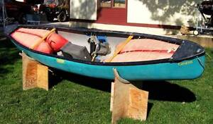 Dagger Genesis Outfitted Royalex Solo WW Canoe