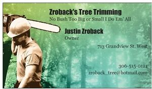 Zroback's Tree Trimming Moose Jaw Regina Area image 1