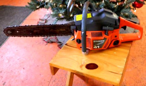 Husqy 41 Chainsaw Air injection