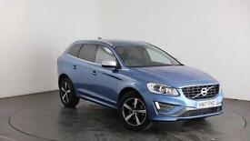 Volvo XC60 2.4TD ( 220bhp ) ( AWD ) ( s/s ) Geartronic 2017MY D5 R-Design Lux
