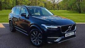 Volvo XC90 2.0TD D5 ( 225bhp ) AWD ( s/s ) Geartronic 2016MY Momentum Magic Blue