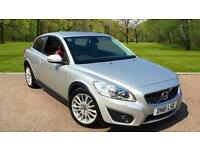 Volvo C30 1.6D DRIVe ( 115bhp ) 2012MY SE Lux SILVER METALLIC COUPE
