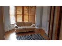 One bed garden flat in Ashley Down. Large, sunny, newly decorated with large cellar