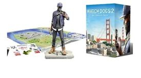 PS4 Watch Dogs 2 San Francisco Edition (With Statue & Lithographs)