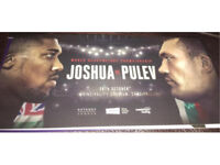 4x Anthony Joshua vs Carlos Takam (was pulev) tickets