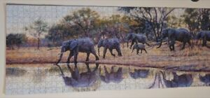 Puzzel of Painting of Elephants (South Africa)