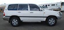 2007 Toyota Landcruiser UZJ100R GXL White 5 Speed Automatic Wagon Bellevue Swan Area Preview