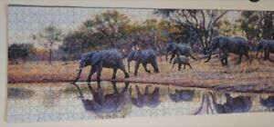Puzzle of Painting of Elephants (South Africa)