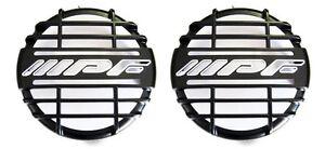 IPF 900/900XS BLACK DRIVING SPOT LIGHT GRILL COVERS PAIR 4x4 4WD ***BRAND NEW***