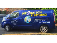 Top2Bottom Plastering: A company serving Edinburgh and West Lothian