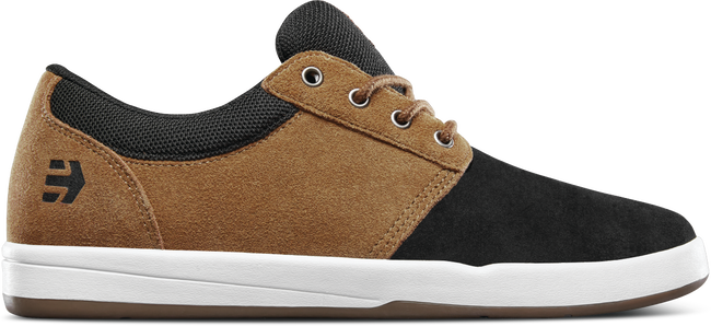Skateboardschuhe ETNIES SCORE Michelin Sohle Black Brown Sneaker Lo Top