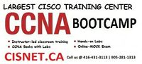 CCNA  Bootcamp starting in the week of May 8th, 2017 @ CISNET!