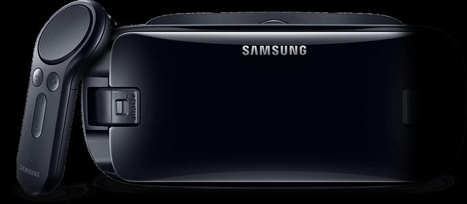 NEW 2017 Samsung Gear VR Head Set Controller and Bonus Oculus Content Bundle