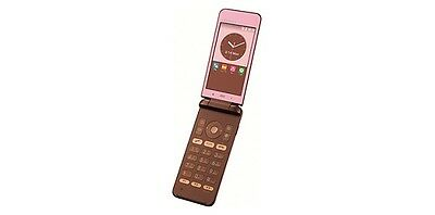 KYOCERA KYF31 GRATINA 4G WIFI KEITAI ANDROID FLIP PHONE PINK UNLOCKED NEW SHF31