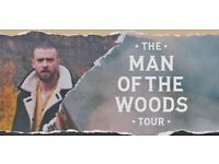Justin Timberlake Tickets O2 London 11 July - The Man of the Woods Tour