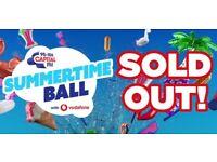 4x Capital Summertime Ball Tickets