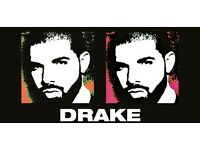 2 x Drake Boy Meets World Tour Tickets - Block 107 - Seated - Sat 4th Feb - O2 Arena - Top Seats!