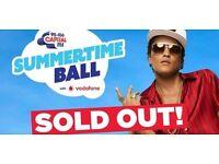 Capital's Summertime Ball - 2 x Tickets - Block Club 209 - Row 16 - Amazing Seats