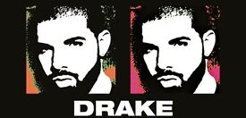 2 Tickets For Drake