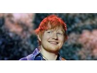 2 x ED SHEERAN STANDING TICKETS (INTIMATE GIG @ INDIGO O2) - 19 February 2018 (COMPLETELY SOLD OUT!)
