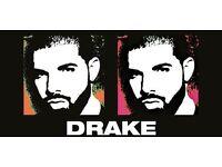 2 drake tickets 1st Feb