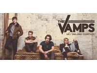 2 tickets to see The Vamps live at Sheffield arena - Friday 28th April 2017