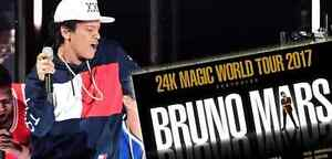Bruno Mars 24k World Tour Tickets