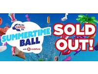2xSold Out Capital Summertime ball tickets