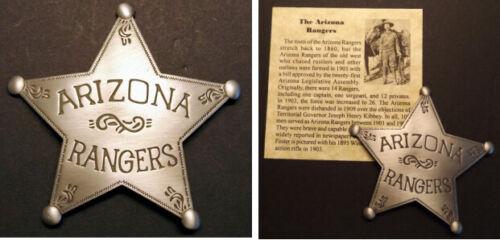 Arizona Rangers Badge, Old West, Western