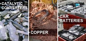 Buying scrap achat de metal