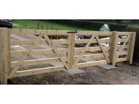 HEAVY DUTY CRAFTSMAN BUILT FENCES ,GATES ,DECKING .BUILT TO LAST IN SUBSTANTIAL TIMBERS
