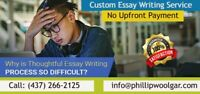 Urgent Essay Writing Service You Can Trust !!