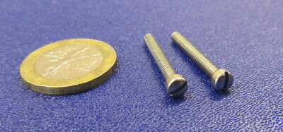 Fillister Head Stainless Steel Slotted Machine Screw 5-40 x 1.0