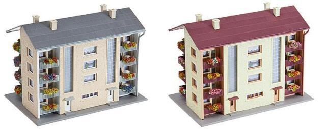 232304 FALLER 2 Wohnblöcke / Wohnhäuser Spur N