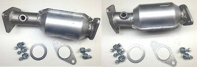 Frontier 40L Pair of Front Catalytic Converters 2005 2009 DirectFit All HD inc