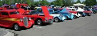 Volunteers for Car Show