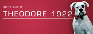 Theodore 1922 Closing SALE.  70% OFF ALMOST EVERYTHING.