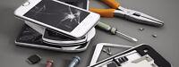 Technicien en électronique, Réparation de téléphone cellulaire