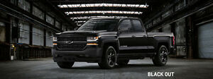 2016 Chevrolet Silverado 1500 blackout edition