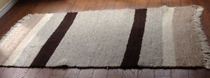 Wool Area Rug Hand Woven In Africa
