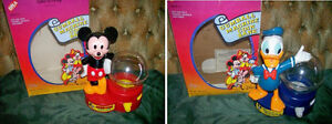 Retired Mickey Mouse & Donald Duck Gumball Coin Bank London Ontario image 1