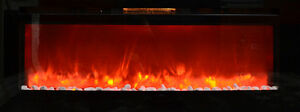 65 Inch Electric insert Fireplace