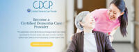 Become a Certified Dementia Care Provider! Online Course