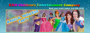 PRINCESS BIRTHDAY PARTY ENTERTAINERS 4 HIRE